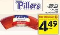 Piller's Sausage Chubs