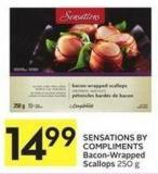 Sensations By Compliments Bacon-wrapped Scallops 250 g