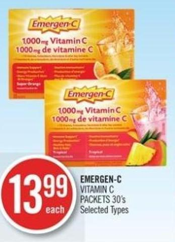 Emergen-c Vitamin C Packets