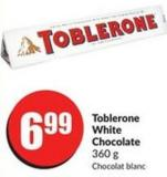 Toblerone White Chocolate 360 g