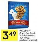 Pillsbury Grands! or Ready To Bake Cookies 454-496 g