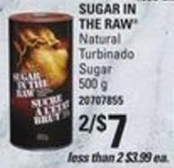Sugar In The Raw Natural Turbinado Sugar - 500 g