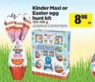 Kinder Maxi Or Easter Egg Hunt Kit - 150-186 G