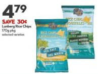 Lunberg Rice Chips 170g Pkg