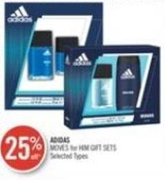 Adidas  Moves For Him Gift Sets