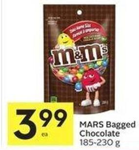 Mars Bagged Chocolate