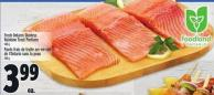 Fresh Ontario Skinless Rainbow Trout Portions