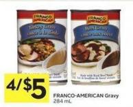 Franco-american Gravy 284 mL