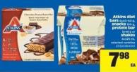 Atkins Diet Bars - 6x40-60 G - Snacks - 190 G - Protein Bar - 5x48 G Or Shakes - 4x325 Ml