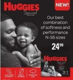 Huggies Special Delivery Diapers - N-s6 Sizes