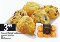 Farmer's Market Tea Biscuits - 315 g