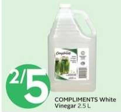 Compliments White Vinegar
