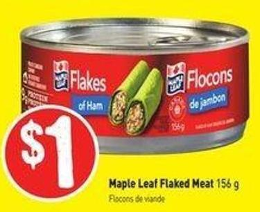 Maple Leaf Flaked Meat 156 g