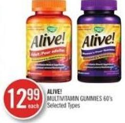 Alive! Multivitamin Gummies