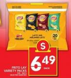 Frito-lay Variety Packs - 520/560 g