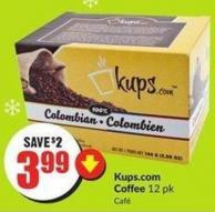 Kups.com Coffee 12 Pk