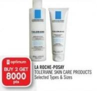 La Roche-posay Toleriane Skin Care Products