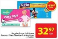 Pampers Giant Easy Ups Training Pants