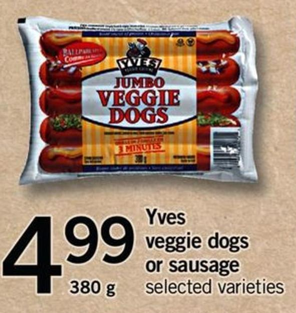 Yves Veggie Dogs Or Sausage - 380 G