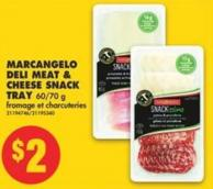 Marcangelo Deli Meat & Cheese Snack Tray 60/70 g