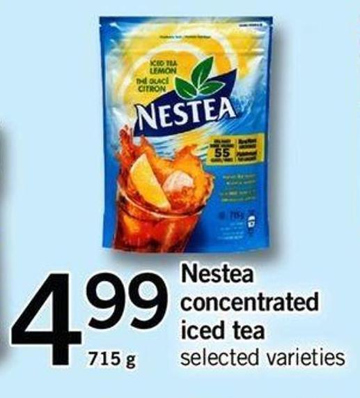 Nestea Concentrated Iced Tea - 715 G