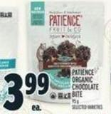 Patience Organic Chocolate Bite 95 g