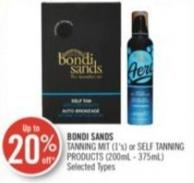 Bondi Sands Tanning Mit (1's) or Self Tanning Products (200ml - 375ml)
