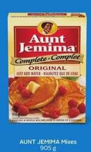 Aunt Jemima Mixes