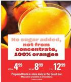 Not From Concentrate 100% Oranges Juice - 947 mL