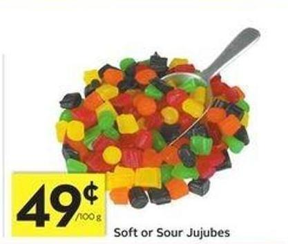 Soft or Sour Jujubes