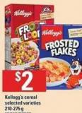 Kellogg's Cereal - 210-275 g