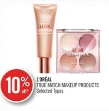 L'oreal True Match Makeup Products