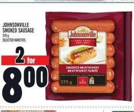 Johnsonville Smoked Sausage