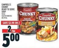 Campbell's Chunky Ready To Serve Soup
