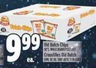Old Dutch Chips 50's