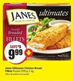 Janes Ultimates Chicken Breast Fillets Frozen 920 G-1 Kg