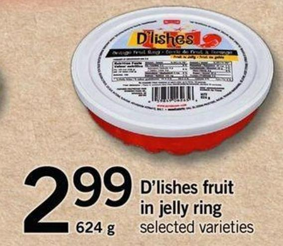 D'lishes Fruit In Jelly Ring - 624 G