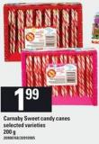 Carnaby Sweet Candy Canes - 200 g