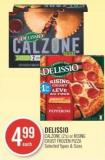 Delissio Calzone (2's) or Rising Crust Frozen Pizza