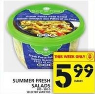 Summer Fresh Salads