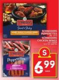 Schneiders Pepperettes Or Schneiders Chicken Wings