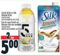 Coco5 Drink Or Silk Almond Drink