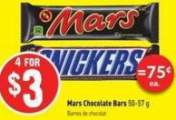 Mars Chocolate Bars 50-57 g