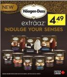 Haagen-dazs Extraaz Indulge Your Senses