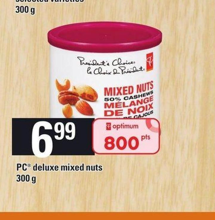 PC Deluxe Mixed Nuts - 300 G
