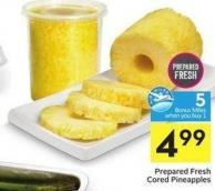 Prepared Fresh Cored Pineapples - 5 Air Miles Bonus Miles