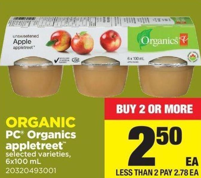 PC Organics Appletreet - 6x100 mL
