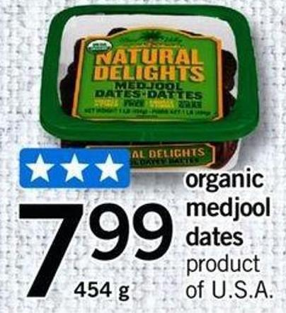 Organic Medjool Dates - 454 G
