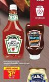 Heinz Ketchup 1 L or Memphis Style Bbq Sauce 475 mL