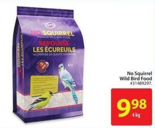 No Squirrel Wild Bird Food